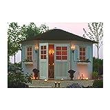 Solid Superia Gartenhaus Nancy holz 299x 423x 281cm s8207