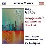 Glass:Quartet No. 5, String Sextet [Cian O'Duill, Gemma Rosefield, Carducci String Quartet] [NAXOS: 8559766]