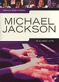 Really easy piano: MICHAEL JACKSON mit Bleistift -- 19 beliebte Songs des King of Pop für Klavier sehr leicht gesetzt mit Text u.a. mit THRILLER und THIS IS IT - ideal für Anfänger und Wiedereinsteiger (Noten/sheet music)