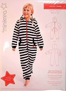 Patrons pyjama pour enfant pièce no 50440 50–taille 146 cm