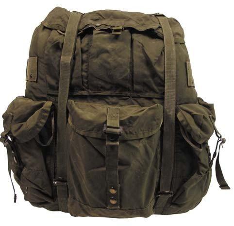 ORIG. US RUCKSACK ALICE BAG Army Military Kampfrucksack Trekking Outdoor oliv (Alice Rucksack)