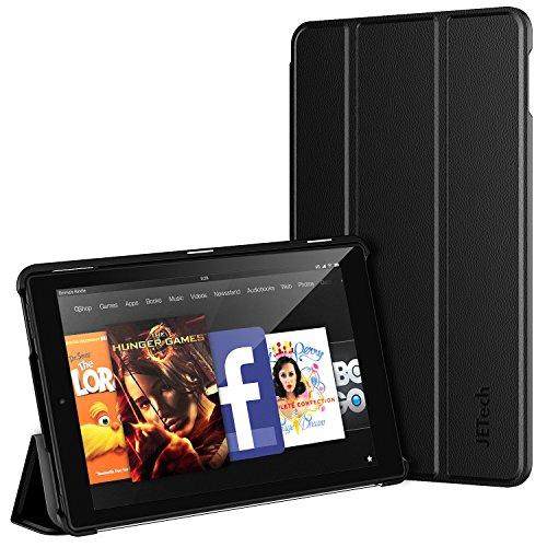 JETech ' J3412–Schutzhülle für Amazon Kindle Fire HD 1010.1Tablet, Schwarz (Amazon-tablet 10)