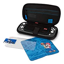PowerA Travel Protection Case and Accessory Kit for Nintendo Switch Lite – Mario Kart, Blue