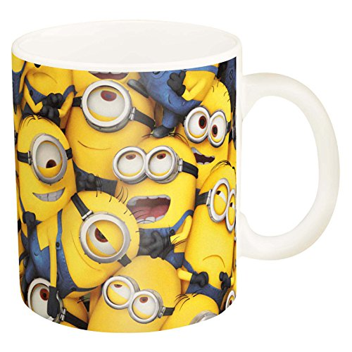 Image of Minions Unisex Group Boxed Ceramic Mug, Multi-Colour