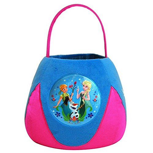 Disney Frozen Anna & Elsa Plush Basket Jumbo -