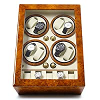 Time Tutelary Octet Watch Winder (Burlwood) No' Q88YW