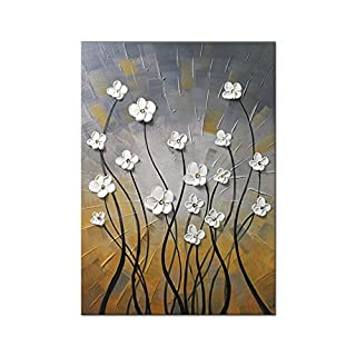 Wieco Art Morning Dancing 100% Hand Painted Modern Artwork Paintings on Canvas Abstract Wall Art for Living Room Home Decorations Wall Decor FL1091-5070