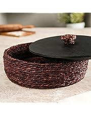 Unravel India Sabai Black Roti Box