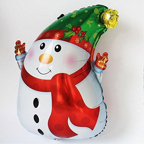 Tradico® Snowman Balloon Aluminum Foil Party Decoration Festive Party Supplies