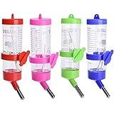 125ML Plástico Animales pequeños Botella de conejo para el hámster Ardilla agua bebiendo dispensador botellas (color al azar)