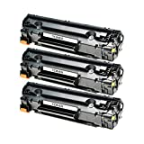 3 Toner für Canon Cartridge 728 Fax L-150 170 410 MF-4400 4410 4430 4450 4500 4550 4570 4580 4700 4730 4750 4770 4780 4800 4820 4870 4880 4890 Series D DN DW N W - 3500B002 - Schwarz je 2100 Seiten