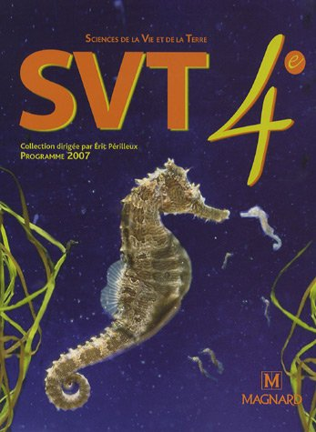 SVT 4e : Manuel élève