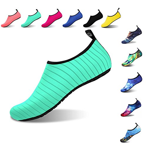 Foto de Aqua Shoes Escarpines Hombres Mujer Niños Zapatos de Agua Zapatillas Ligeros de Secado Rápido para Swim Beach Surf Yoga