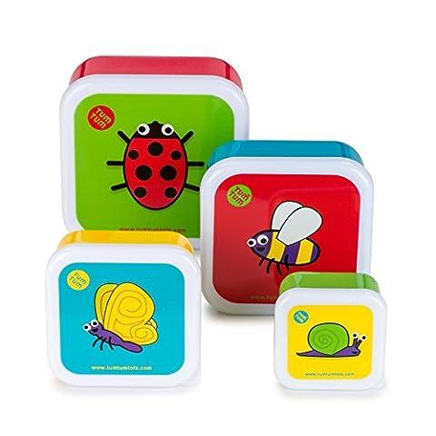 TUMTUM Children's Snack Pots (Bugs)