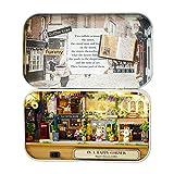 Smandy DIY Puppenhaus Mini Welt in Box Theater Haus mit LED Licht Handgemachte MontagesätzeMiniatur...