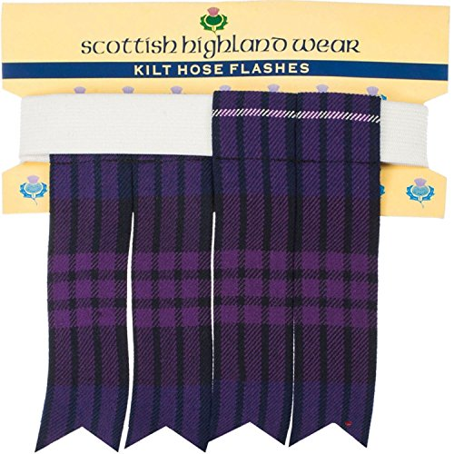 I Luv LTD Kilt Flashes Heritage Of Scotland Tartan -