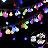 Catena luminosa, 4,5M 40LED catena impermeabile multicolore, stringa luci...