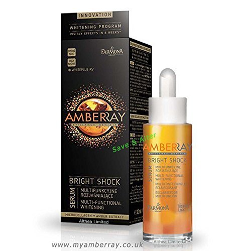 Perfect Intense Beauty Serum (AMBERRAY BRIGHT SHOCK SERUM Multi-functional smoothing stimulates 25+)