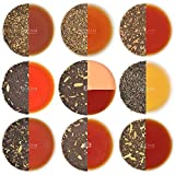 VAHDAM, Muestra de Té Chai - 10 TEAS, 50 Porciones | ESPECIAS 100% NATURALES | Tés Masala Chai originales de la India | Brew Hot, Iced o Chai Latte | Chai té de hojas sueltas, 100 g