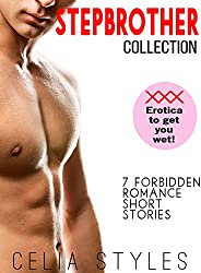 STEPBROTHER COLLECTION - 7 FORBIDDEN ROMANCE SHORT STORIES: Stepbrother Romance Stories Bundle (English Editio