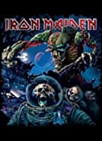 IRON MAIDEN POSTERFLAGGE / FAHNE / FLAGGE the final frontier