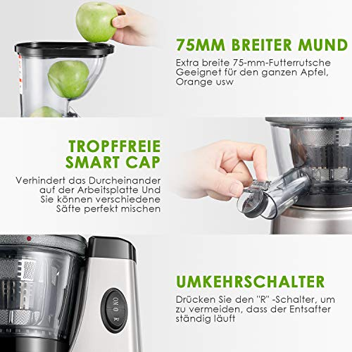 Entsafter Aicook 3 In 1 Slow Juicer Bild 3*
