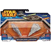 Mattel CGW90 - SW spaceship 2-er pack asst