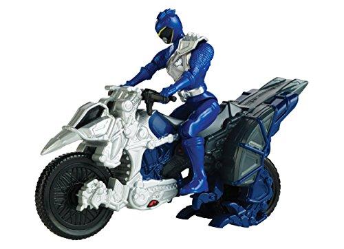 Power Rangers Dino Charge Moto transformación, color azul (Bandai 42073)