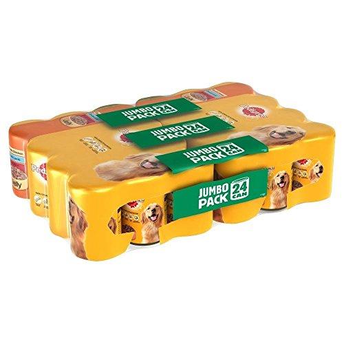 Rasse Auswahl Rindfleisch , Huhn Und Lamm In Gelee (24X385G)