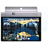 atFolix Panzerfolie für Lenovo Yoga Tab 3 Pro 10 Folie - 2 x FX-Shock-Clear stoßabsorbierende ultraklare Displayschutzfolie