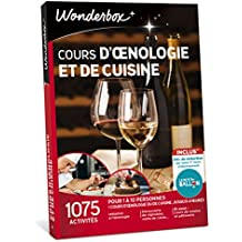 WONDERBOX - Coffret cadeau - COURS D'ŒNOLOGIE ET DE CUISINE