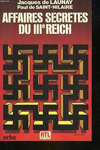 Affaires secrètes du IIIe Reich
