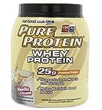 Pure Protein Pure Protein 100% Whey Protein Vanilla Cream 2LB by Pure Protein