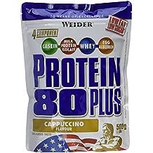Weider Protéines en poudre Protein 80+  Cappuccino  500 g