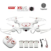 Togather® Syma X5UC Drone 2.4Ghz 6-Axis Gyro fotocamera 2.0MP HD