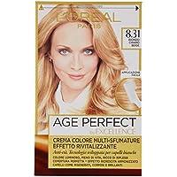 L'Oréal Paris Excellence Age Perfect Crema Colore Effetto Rivitalizzante, 8.31 Biondo Chiaro Beige