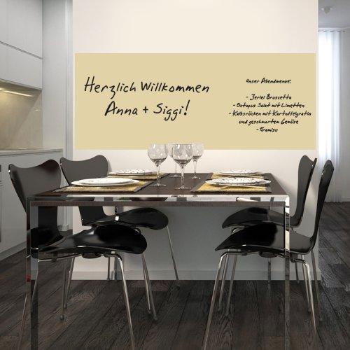 Selbstklebende Whiteboardfolie 60x150 - beige -