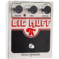 Electro-Harmonix USA Big Muff Big Muff Pi - Pedal de distorsión para guitarra, color plateado