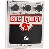 Electro Harmonix Big Muff Pi Effektpedal für E-Gitarre, silberfarben