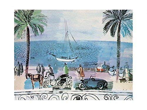 raoul-dufy-poster-kunstdruck-promenade-a-nice-80-x-60-cm