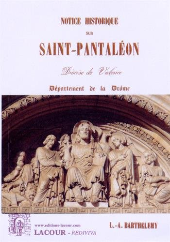 Notice historique sur Saint-Pantaléon