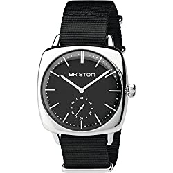 Unisex Briston Clubmaster Vintage Steel Watch 17440.PS.V.1.NB