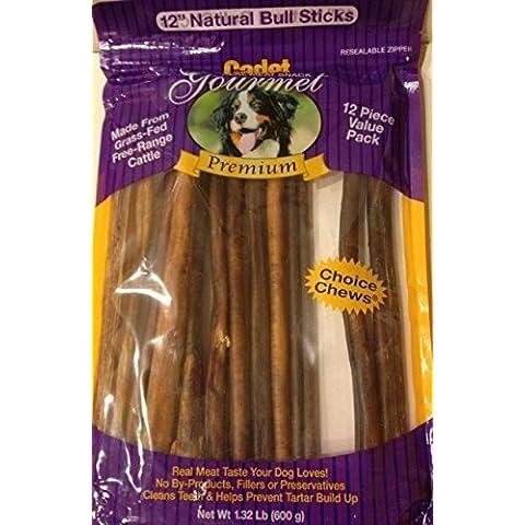Cadet Gourmet Bully Sticks 12 Pack (2