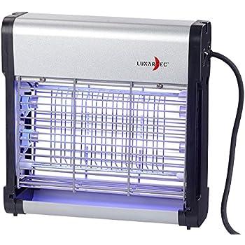 Lunartec Mückenvernichter: UV-Insektenvernichter IV-512 mit austauschbarer UV-Röhre, 12 Watt (Fliegenvernichter)