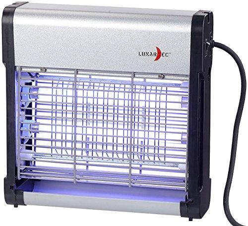 Lunartec Insektenlampe: UV-Insektenvernichter IV-512 mit austauschbarer UV-Röhre, 12 Watt (Elektro-Insektenvernichter)