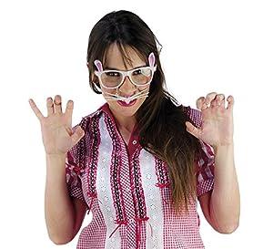 Limit Sport - Gafas de chica conejo, talla única (CM954)