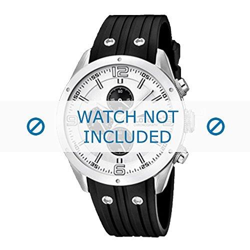 lotus-style-correa-de-reloj-15969-1-15969-4-caucho-plastico-negro-23mmsolo-reloj-correa-reloj-no-inc