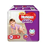 #10: Huggies Wonder Pants Medium Size Diapers (72 Count)