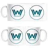 Taza Westworld logo serie