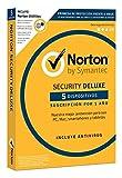 Norton Security Deluxe 2017 + Norton Utilities incluido-5 Dispositivos, 1 año